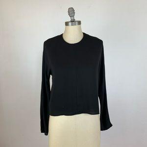 Babaton Aritzia Black Long Sleeve Top